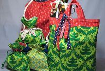 Ajándék zsákocskák, táskák - Bags, Gift bags, hand made and other babythings