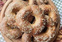 Brot-Brötchen-Bagel gesund