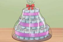 gâteaux de couches idée