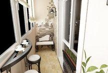 Балкон дизайн