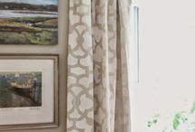 Front Door Curtains / Feeling the cold in the winter inside your house? Use curtains at your front door to keep the cold outside...