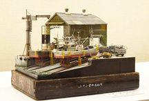Diorama port
