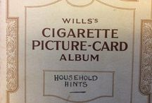Vintage Household Hints / In the 1930s Wills cigarettes contained giveaway cards that were collected and saved in booklets. These are a set of 50 Household Hints with ideas for repairs and money saving tips.
