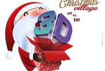 Jambo Christmas Village / Un viaggio alla scoperta di Babbo Natale attraverso magiche proiezioni 3D