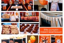 Birthday party - Halloween theme / by Erin Ranslow