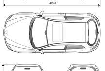 Alfa Romeo decal blueprints
