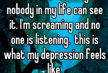 I hate depression, but may be I do not want it to let me go and make me feel alone, again!