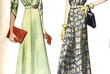 1930's womens wear