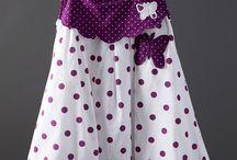 vestidos de niñas / ropa para niñas bordadas en smock
