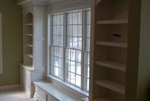 Built in and Bookcase