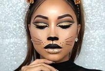 Fox/bear makeup