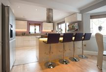 The Heart Of The Home / Creating a workable, yet stylish kitchen for a busy young family was the remit for designer Maxine Hutchinson, when Alina and Keith Cotterill arrived at the Kitchen Design Centre.