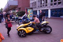 Camberley Car Show 2014 / A wide variety of vehicles including many rare examples of Veterans, Vintage, Classics, Hot Rods and Motorcycles will be on static display in and around Camberley Town Centre - High Street, Park Street and Obleisk Way