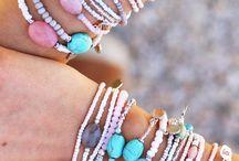 Armbandjes bracelets inspiration / Ibiza zomer armbandjes