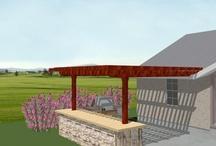 Outdoor Grill Area Ideas