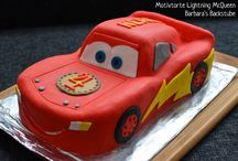 Jacob Cars Cake