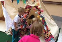 Kids are exciting with the Teepees
