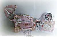 # 96 Flower cart / Template # 96 Flower cart available at www.sandrasscrapshop.blogspot.com