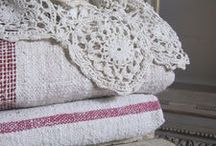 linens / by Fiberwhimstress