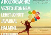 Motivációs idézetek / A Boldogság Projekt inspirációs idézetei > boldogsagprojekt365.hu
