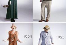 시대별 패션 의복