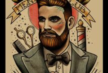 Pipes & Beards / Cpt. Fawcett, Taylor of Old Bond Street, Peterson, John Jameson&Son, Camel