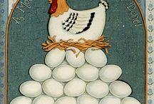 Dekopaj tavuk ve kuşlar