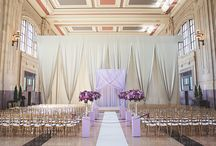 Union Station | Kansas City / Wedding Inspiration for the Union Station in KC, including flowers, lighting, fabric and design details from real weddings.