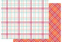 PhotoPlay Paper Mad 4 Plaid Delightful collection / Mad 4 Plaid scrapbook paper