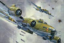 Aviation Art, War Planes / Aviation Art