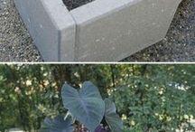 Zementpflanzbehälter