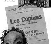 """Jacques Copeau / Colecção de imagens dedicadas ao teórico, pedagogo e encenador francês, pai da """"Rénovation Dramatique""""."""