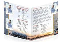 Easy Funeral Program Template / Easy Funeral Program Template
