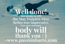 Passion Barre Challenge Series / Track your progress every month with our barre or pilates class challenges and homework designed to educate, and strengthen, and lengthen you.