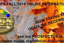 FALL 2014 ONLINE INTERNATIONAL EXHIBIT / The National Oil & Acrylic Painters' Society announces its On-Line International Exhibit Fall 2014. Deadline to enter the exhibit December 1, 2014. See the Prospectus in our website at www.noaps.org