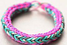 Loom bracelet / Loom bracelets