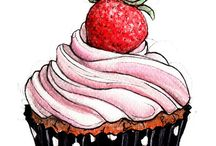 Cup cake lillstugan