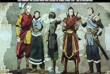 Avatar The Legend of Korra / Aang