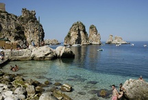 Sea and beaches in Sicily