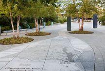 landscape/ pavement