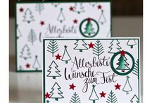 Watercolor Christmas Card Kit Alternate Projects