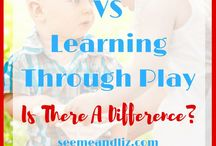 PLAY BASED LEARNING / LEARNING THROUGH PLAY