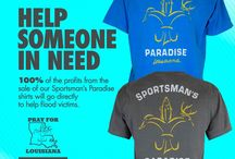 Louisiana Flood 2016 / 100% of Profits going to flood victims