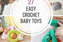 Bebé crochet juguetes