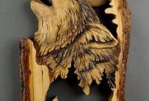 Holz Schnitzerei