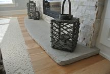 concrete hearths
