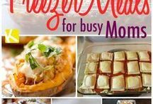 Freezer Meals !!! / meals that can be stored in the freezer.
