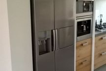 Kitchen with grey floor