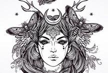 desenhos , ilustrações
