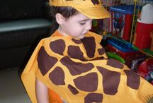 disfraz de jirafa